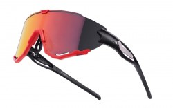 Brýle FORCE CREED černo-červené, červené revo skla