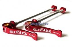 A2Z titanové rychloupínáky set - červené