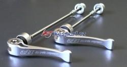 A2Z titanové rychloupínáky set - stříbrné