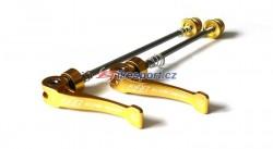 A2Z titanové rychloupínáky set - zlaté