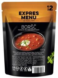 Expres Menu - jídlo na cesty - Polévka Boršč 600g/2porce