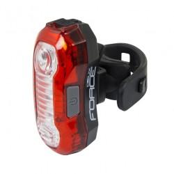 FORCE DEUX blikačka zadní 5 LED USB