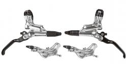 Brzdy Formula CURA 4 leštěné přední+zadní