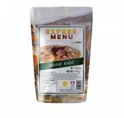 Expres Menu - jídlo na cesty - Jelení ragú 600g/2porce