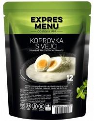 Expres Menu - jídlo na cesty - Koprová omáčka s vejci 600g/2porce