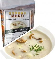 Expres Menu - Kulajda s liškami polévka 600g/2porce