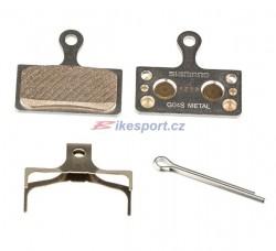 Shimano brzdové destičky G04S (kovové)