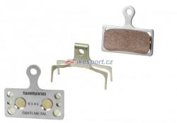Shimano brzdové destičky G04Ti (kovové)