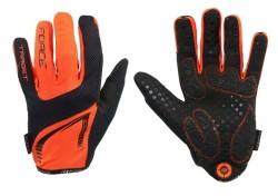 Force rukavice MTB TARGET letní (oranžové)