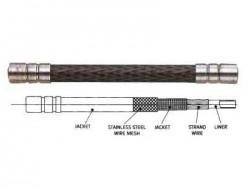 Alligator bowden LY-186 kevlarový - TMAVĚ ŠEDÝ