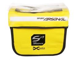 Brašna ARSENAL Art. 310 na řidítka vodotěsná žlutá