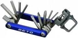 Multiklíč BETO BT-338 15v1