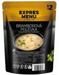 Expres Menu - jídlo na cesty - Bramborová polévka 600g/2porce