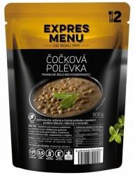 Expres Menu - jídlo na cesty - Čočková polévka 600g/2porce