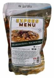 Expres Menu - jídlo na cesty - Krakonošova pochoutka 600g/2porce