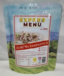 Expres Menu - jídlo na cesty - Kuře na žampionech 300g/1porce