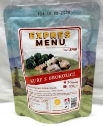 Expres Menu - jídlo na cesty - Kuře s brokolicí 300g/1porce