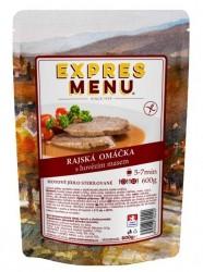 Expres Menu - jídlo na cesty - Rajská omáčka s hovězím 600g/2porce