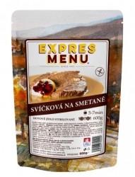 Expres Menu - jídlo na cesty - Svíčková na smetaně 600g/2porce