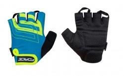 FORCE SPORT rukavice modrá/fluo