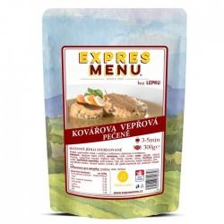 Expres Menu - jídlo na cesty - Kovářova vepřová pečeně 300g/1porce