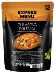 Expres Menu - jídlo na cesty - Gulášová polévka 600g/2porce