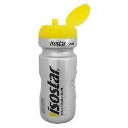 Isostar láhev 0,6L stříbrno/žlutá (klobouček)