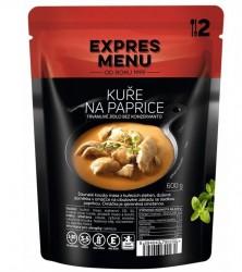 Expres Menu - jídlo na cesty - Kuře na paprice 600g/2porce