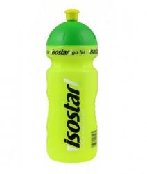 Isostar lahev 0,65L reflexní žlutá, zelené víčko