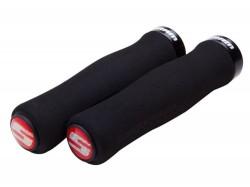 SRAM Locking gripy pěnové tvarované, černá objímka
