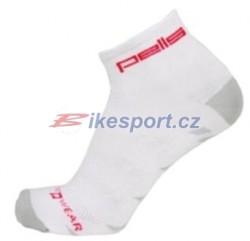 Pells ponožky Bike new - bílá