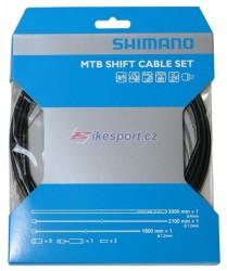 Shimano Deore XT/XTR řadící set - bowdenů a lanek