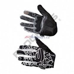 Progress rukavice pánské SPIDER černo/bílé
