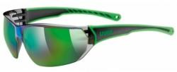 Brýle UVEX Sportstyle 204 černo/zelené
