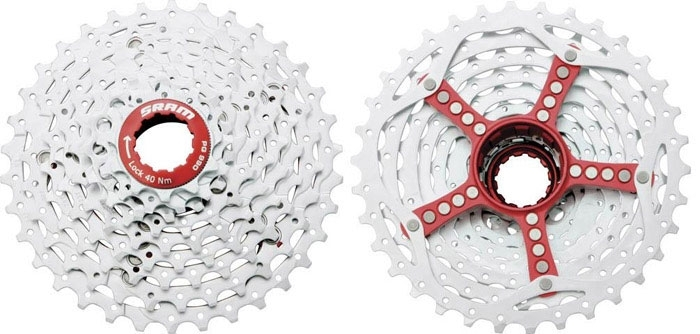 Kazeta SRAM PG-990 red 9sp.